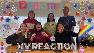BTS (방탄소년단) - Dynamite MV REACTION by ABK Crew from Australia