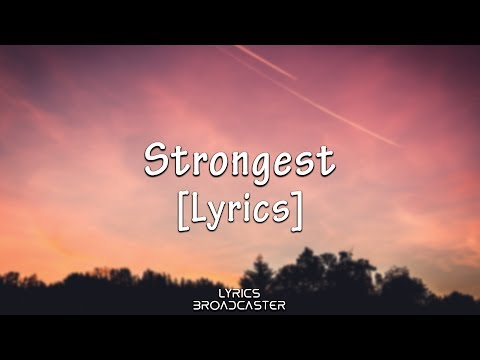 Ina Wroldsen - Strongest (Alan Walker Remix) [Lyrics]