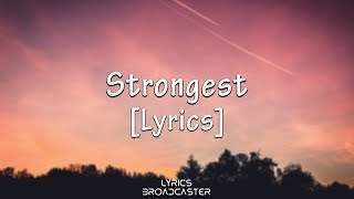 Ina Wroldsen - Strongest  Alan Walker Remix   Lyri