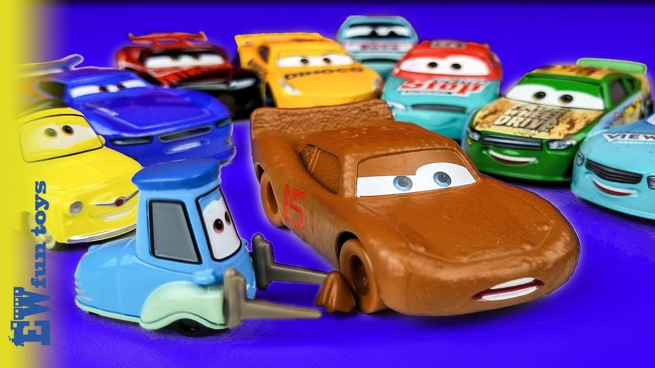 Disney Cars Toys Youtube: Disney Pixar Cars 3 Diecast Toys Part 2 Lightning Mcqueen