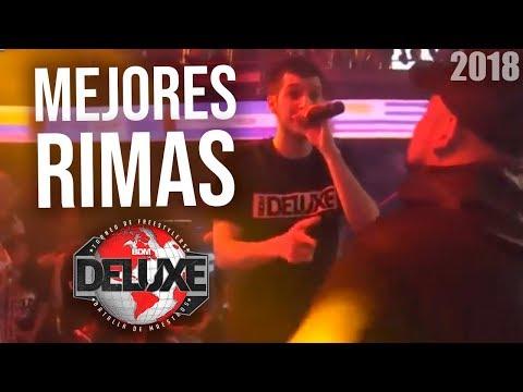 Las MEJORES RIMAS de la BDM DELUXE INTERNACIONAL 2018 | Freestyle Rap
