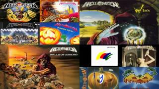 Helloween the best (greatest hits ) full songs ERA KISKE - HANSEN \m/