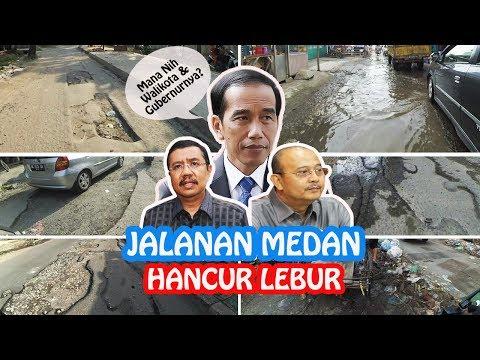 Pak Jokowi, kalau ke Medan jangan lupa lewati jalan ini ya Pak ! Kekginilah Medan