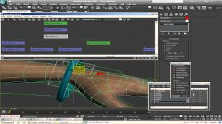 let s rig 3ds max lara croft pt 5 generating fk controllers twist bones and creating ikfk switch