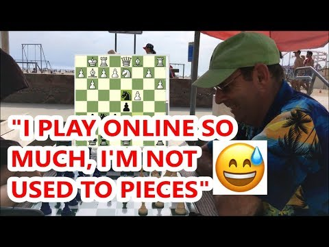 This Is What Happens When You Only Play Chess Online