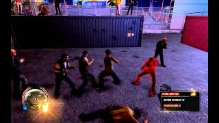 Sleeping Dogs Fight Club!! - At the Docks--ULTRA SETTINGS