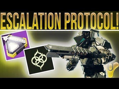 🔴LIVE! Destiny 9 Man Escalation Protocol! (Sniper Grinding Hopefully)