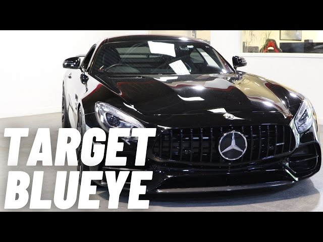 Mercedes AMG GT | Target Blu Eye | Emergency Services Warning Device | Marked & Unmarked