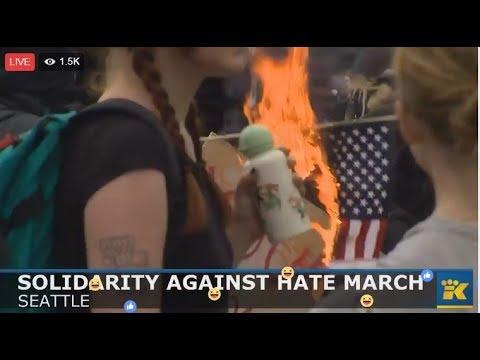 Seattle protests turn violent