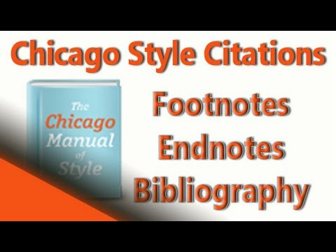 Chicago Style Citation Formats Chicago Citations for Footnotes