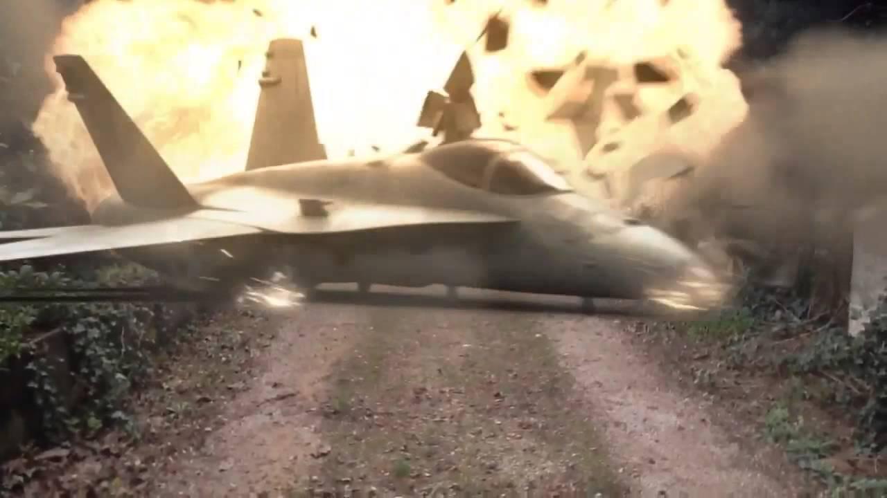 Avion de chasse en plage - 1 part 9