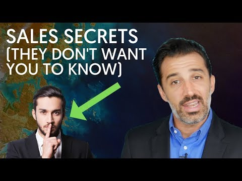 7 Sales Secrets (The Pros Don't Want You To Know)