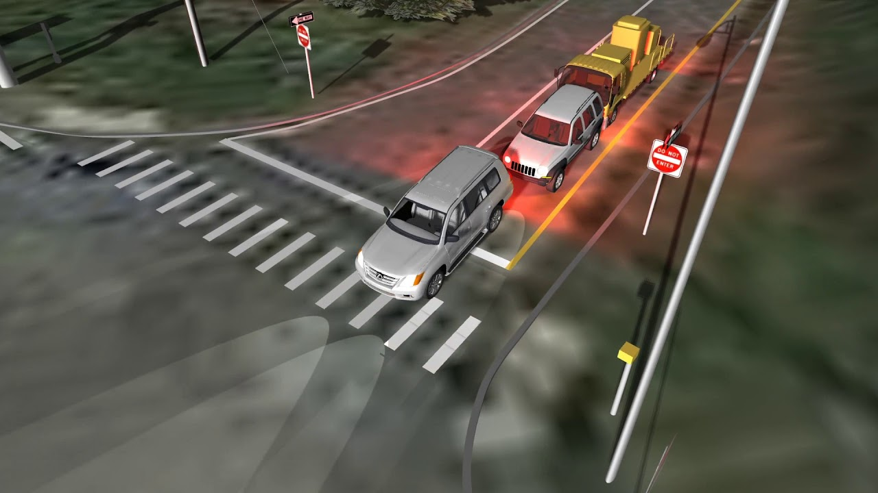 Accident recreation animations - YouTube