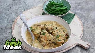 Chicken Casserole With Lemon & Mustard - Chefs Secret