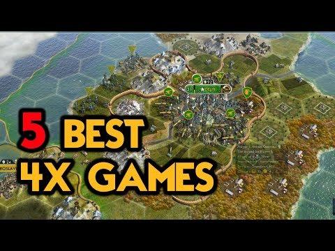 5 BEST 4X GAMES