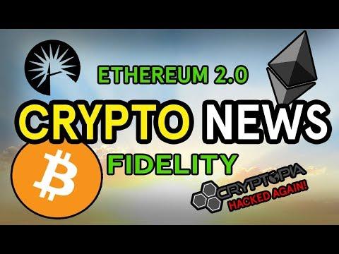 FIDELITY Bitcoin Update | ETHEREUM 2.0 | CRYPTOPIA Hacked... Again!