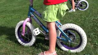 My Little Girls Learned How To Ride a Bike in 2 Hrs