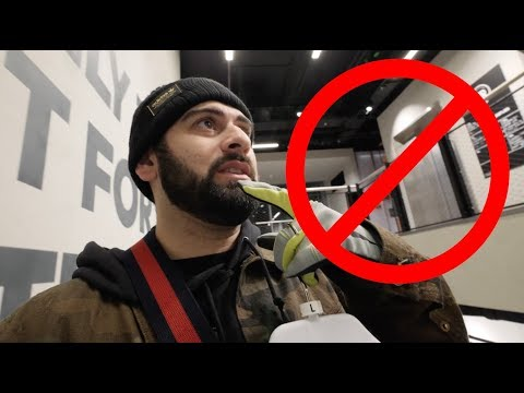 SNEAKER SHOP KICKED US OUT IN GERMANY SMH…