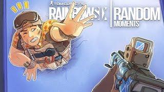 Rainbow Six Siege - Random Moments: #43 (Mozzie Trick!,Operation Burnt Horizon)