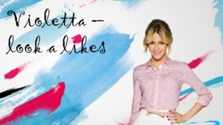 violetta look a like's