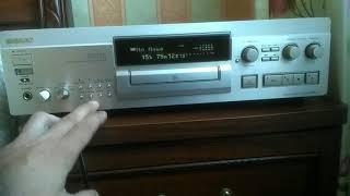 Sony mds ja20es minidisc deck