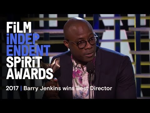 Barry Jenkins wins Best Director at the 2017 Film Independent Spirit Awards
