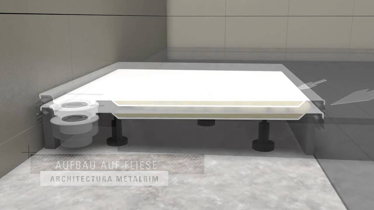 Turbo Villeroy & Boch: Duschwannen Architectura MetalRim - YouTube SA45