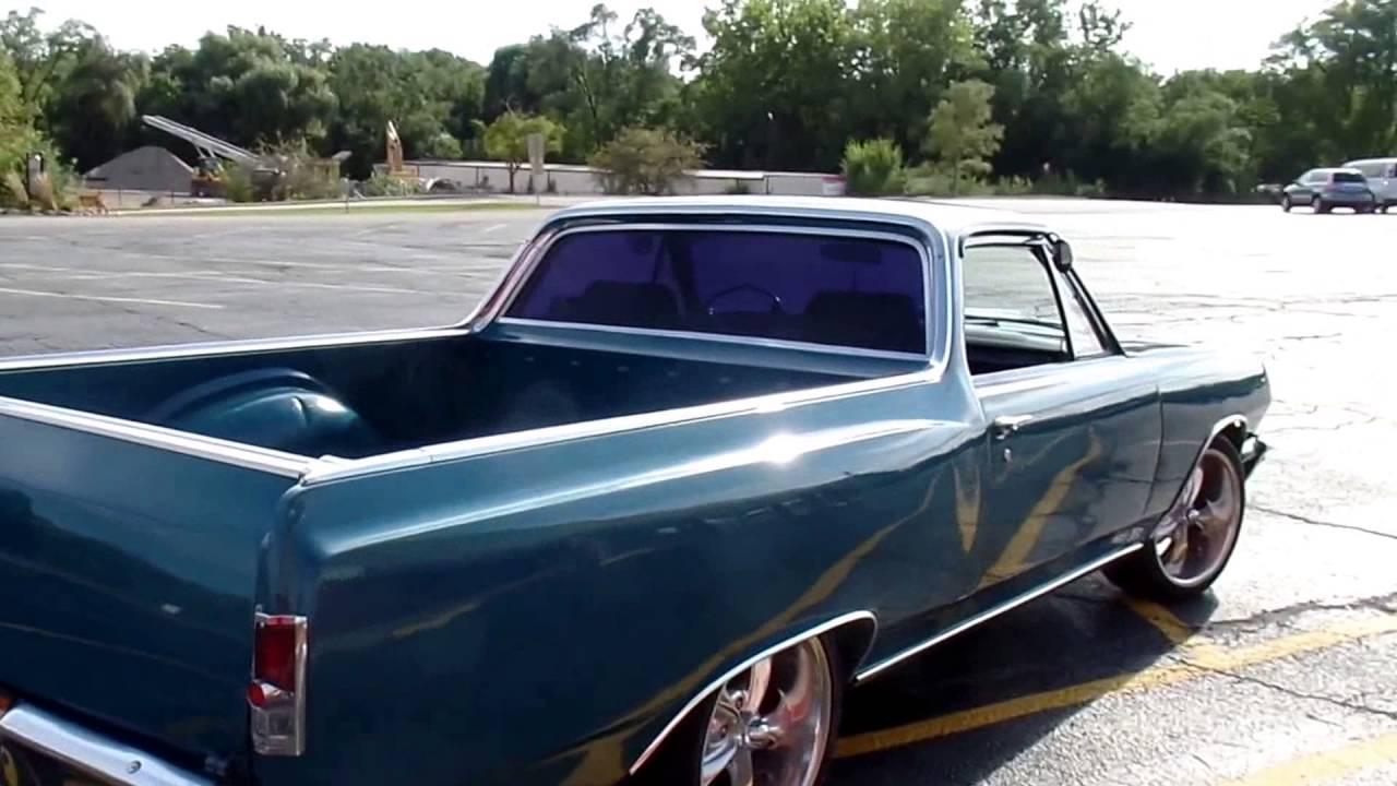 1964 Chevrolet El Camino Drivers Wanted 454 V 8 For Sale Youtube 1966