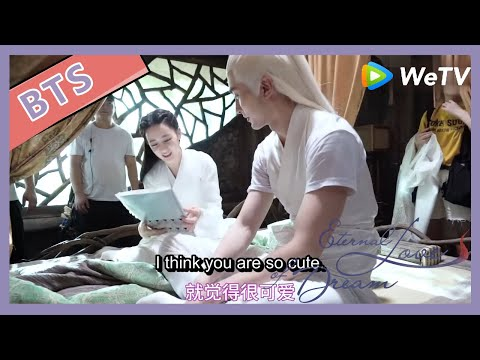 【ENG SUB】Eternal Love Of Dream BTS: Fengjiu And Emperor Dong Hua's Daily Talks