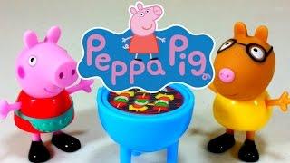 peppa pig bbq time with pedro pony ethanicole