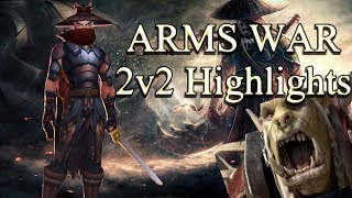 Arms War 2v2 Highlights! - Found Regular Healers!