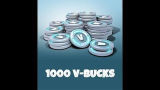 FORTNITE DRAW OF THE 1000 V-BUCKS TODAY COME JOIN