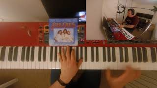 Bee Gees - How Deep is your Love (cover on piano)