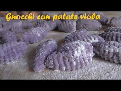Ricetta Gnocchi Di Patate Viola Senza Uova.Gnocchi Di Patate Viola Senza Uova Youtube