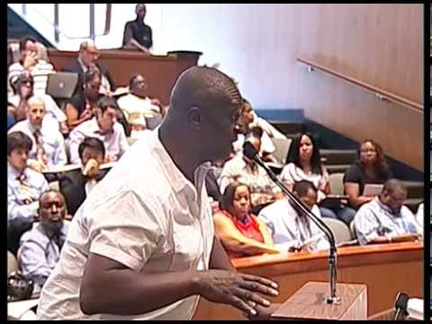 Detroit City Council Formal Session - Public Comments - July 12, 2016