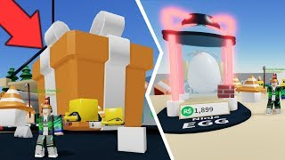 ⭐ I OPENED A HUGE BUILDING GIFT TO ENTER! | ROBLOX ⭐