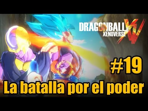 DRAGON BALL XENOVERSE: EPSILON VS LOS DIOSES SAIYAN #19