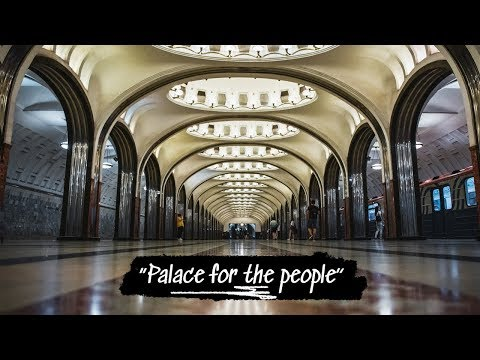 Beautiful MOSCOW METRO Photography