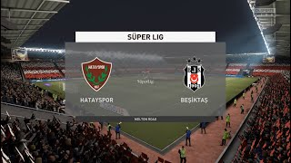 Hatayspor vs Besiktas | Super Lig 10 January 2021 Prediction PS5