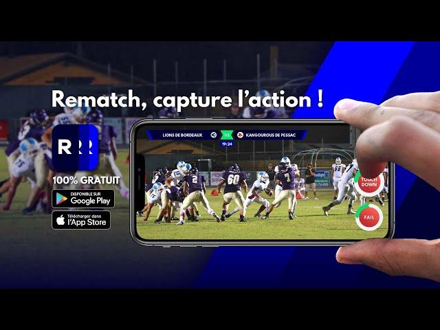 [PARTENAIRE] Les Highlights du Football Américain et du Flag Football sont sur REMATCH !