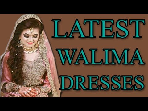 Latest Bridal Walima Dresses 2018 In Pakistan. ✅WhatsApp us +923037969399