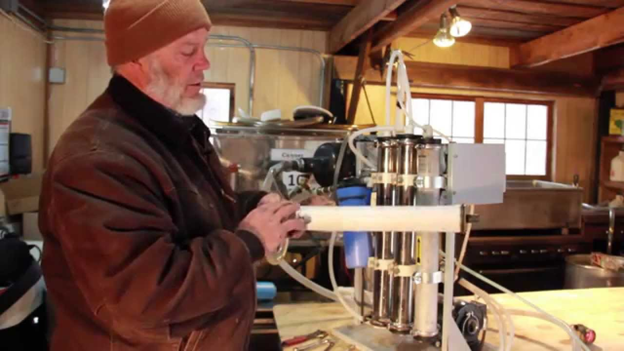 Reverse Osmosis For Maple Syrup Option 2 Youtube