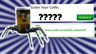 "ENTER THE CODE ""SPIDERCOLA"" NOW 