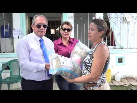 Asistencia humanitaria a damnificados de la estación invernal
