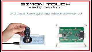 How to renew a locked Porsche smart key using SRK- Simon Renew Key tool