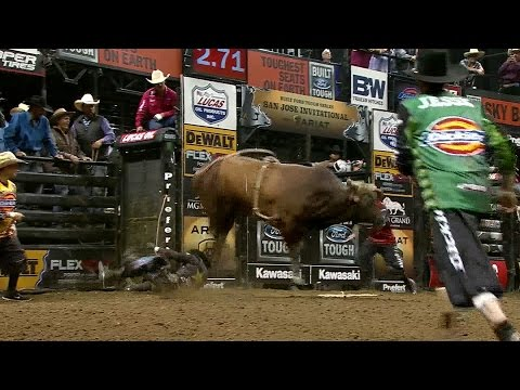 TOP BULL SCORE Stone Sober bucks Stormy Wing for 45.5 points