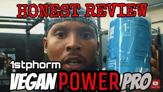 1st Phorm Vegan Power Pro Vanilla Protien Honest Review