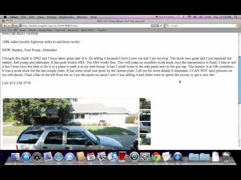 Craigslist La Salle County Illinois Used Cars - For Sale by Owner