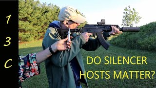 How much does a silencer host matter? Silencer Considerations.