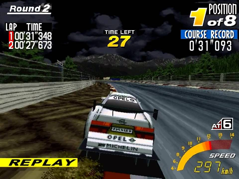 sega touring car pc opel calibra v6 youtube